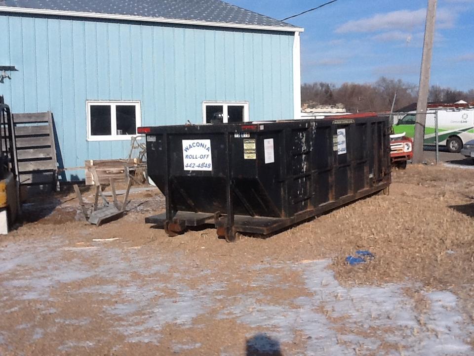 Waconia Roll Off Service - Waconia, MN - 15 yard dumpster